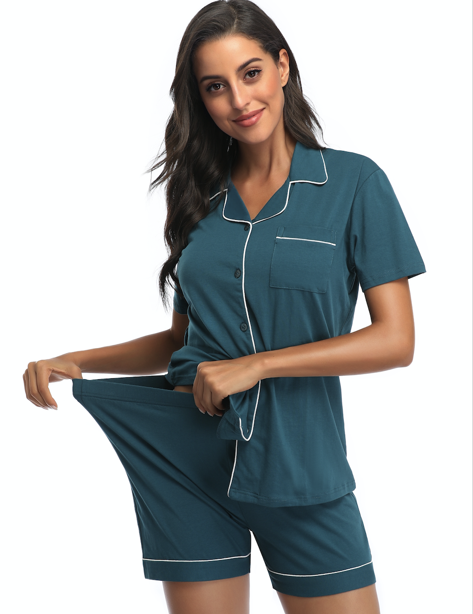 China Wholesale modal nightshirts maternity matching pajamas for couples