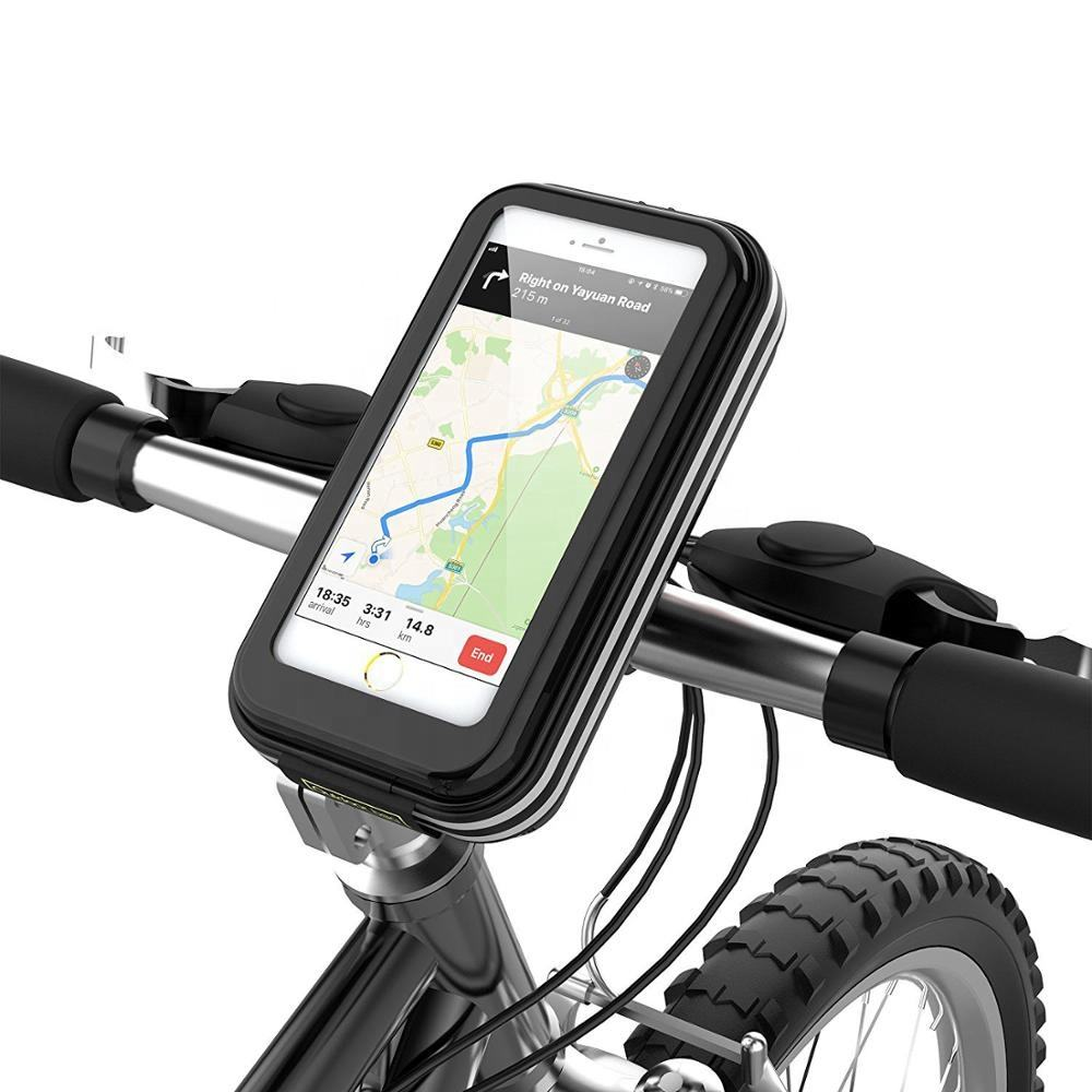 2020 Newest High Quality Waterproof Cell Phone Bike Case Bag Phone Holder Bike Mount Accessories Mobile Phone