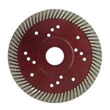 4.5inch diamond fine turbo blade for dry cutting granite