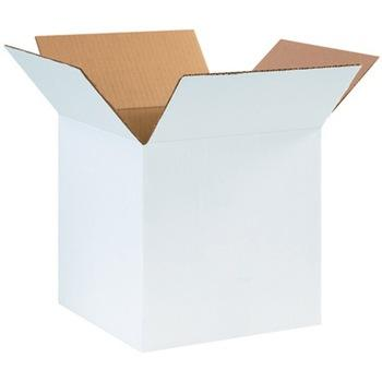 Custom printing white cardboard corrugated shipping carton box wholesale price paper package box