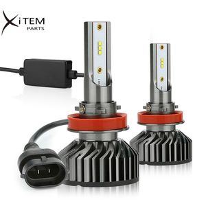 12000lm led headlight bulb H7 H11 H4 car led headlight F2 ZES chips mini size with canbus auto lamps