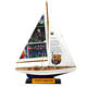 Print pictures 40CM Decorative Model Wooden Sailing Boat Model/endeavour/Custom brand Souvenirs American single pole yacht
