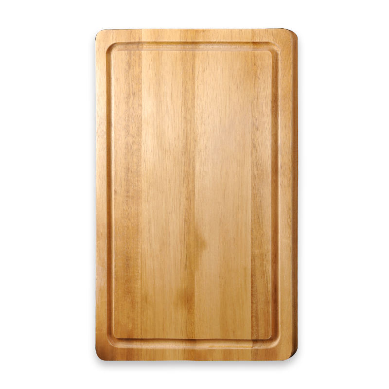 Custom/Wholesale Eco-friendly Acacia Cutting Board with Juice Groove Kitchen Wood Chopping Block Wooden Cutting Boards
