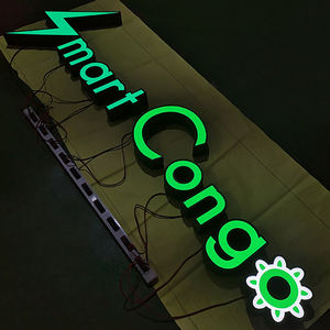 Facelit Outdoor Advertising Led Channel Letters Sign Front Lit Acrylic 3D Light Words