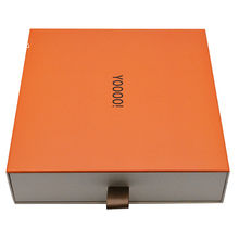Wholesale Custom Pull Out Tab Slide Out Open Box Tray And Sleeve Two-in-one Hard Paper Packaging Gift Boxes
