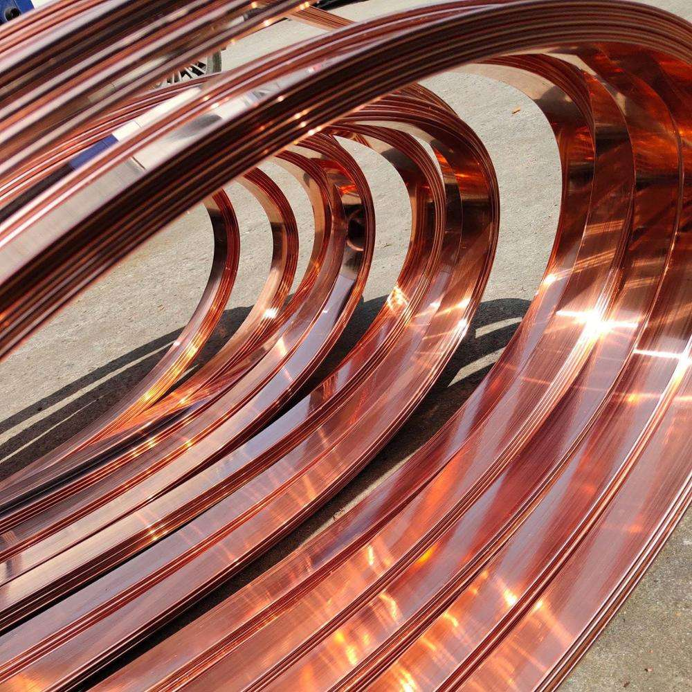 premium copper fixing strip tape for earthing