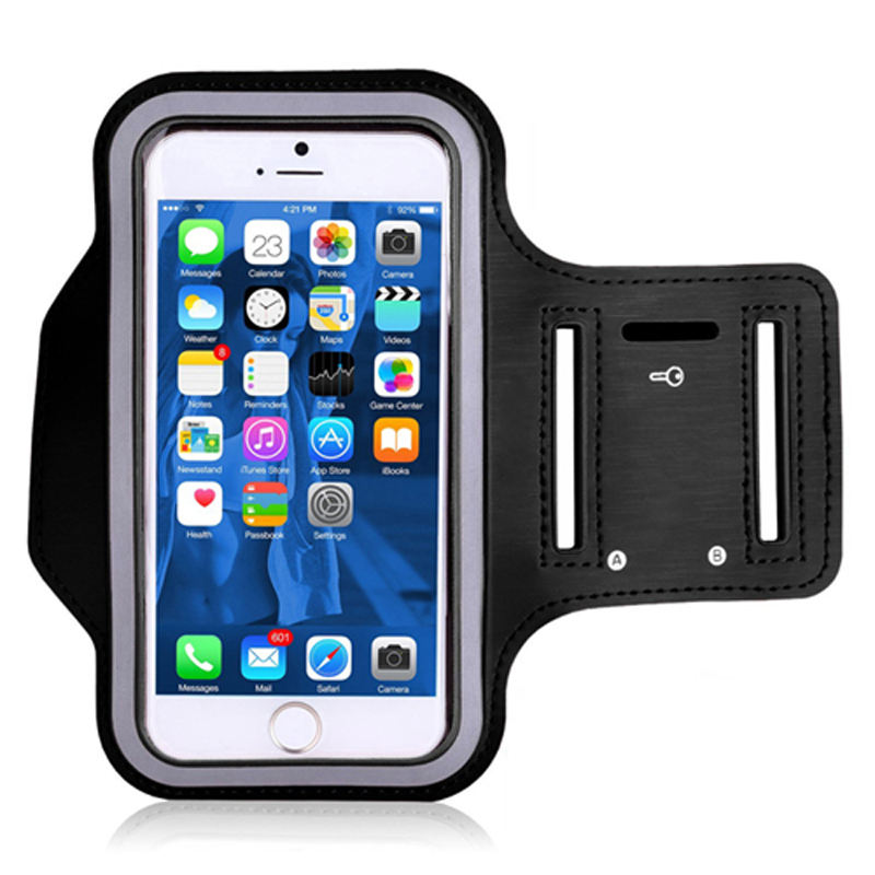 "High Quality Waterproof 5.5"" 6""Gym Running Phone Bag Arm Band Case for iPhone Outdoor Sports Phone Holder Armband Case"