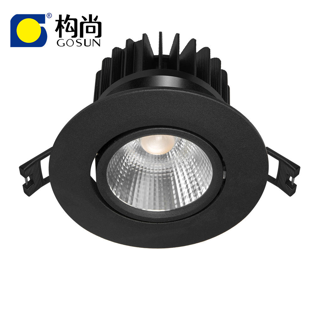 CRI90 12W dimmable led COB spot light for Shop Residential