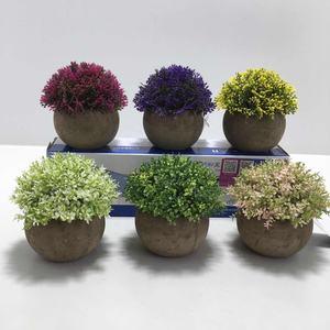 Qinghengyong Artificial Tela Flor Hojas Rama Realista decoraci/ón para P/érsico Lysimachia Helecho Floral decoraci/ón del hogar