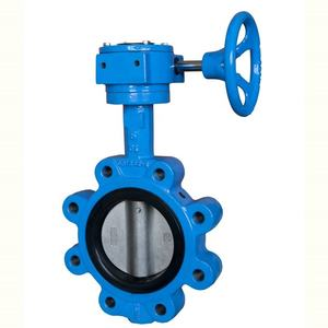 Resilient Seat Lug Type Cast Iron Butterfly Valve
