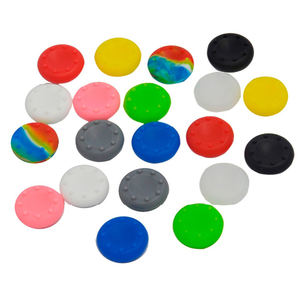 Non-slip Silicone Rubber Cap Thumb Grip Stick Multicolor Analog Thumbsticks Cover for PS4 /PS3/XBOX360 Controller