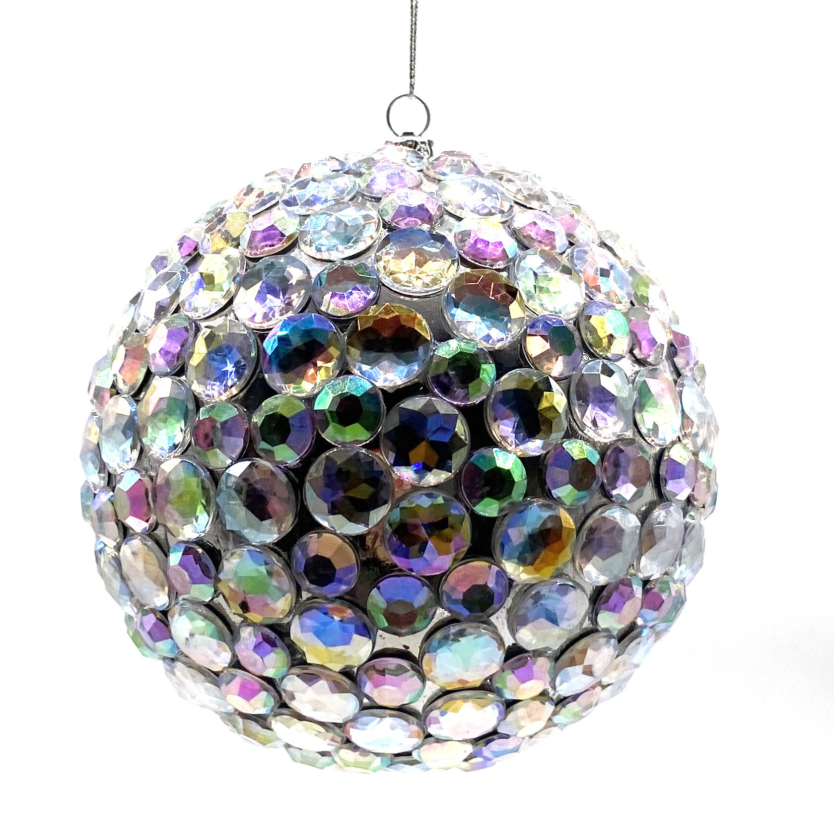 new arrivals 2020 Promotional Gifts glitter xmas baubles ball decoration christmas felt ornament