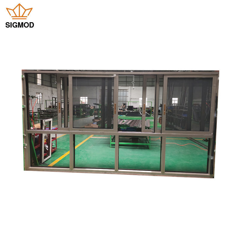Hot Selling Used Aluminum Sliding Windows Aluminum Frame Glass Horizontal Slide Windows For Houses
