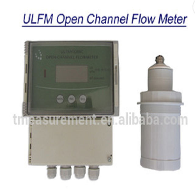 4 wires Sewer Open channel Flow meter Level Sensor