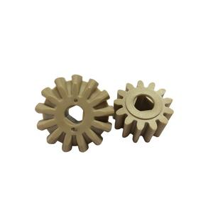 Customized Mechanical Parts Heat resistant 300 degree corrosion resistant PEEK gear