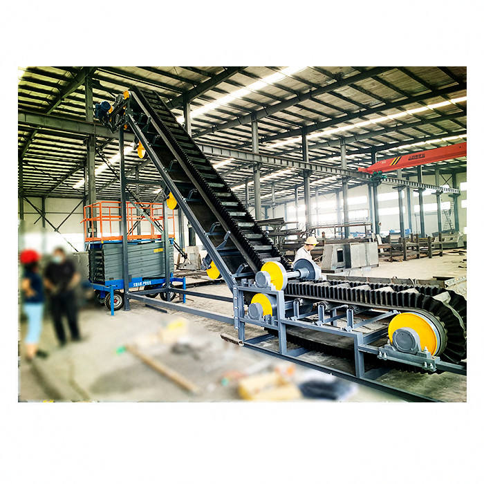 Roller Drum Belt Conveyor Suppliers Chain Loading Conveyor Belt Cutter Industrial Sand / mine / stone crusher / coal