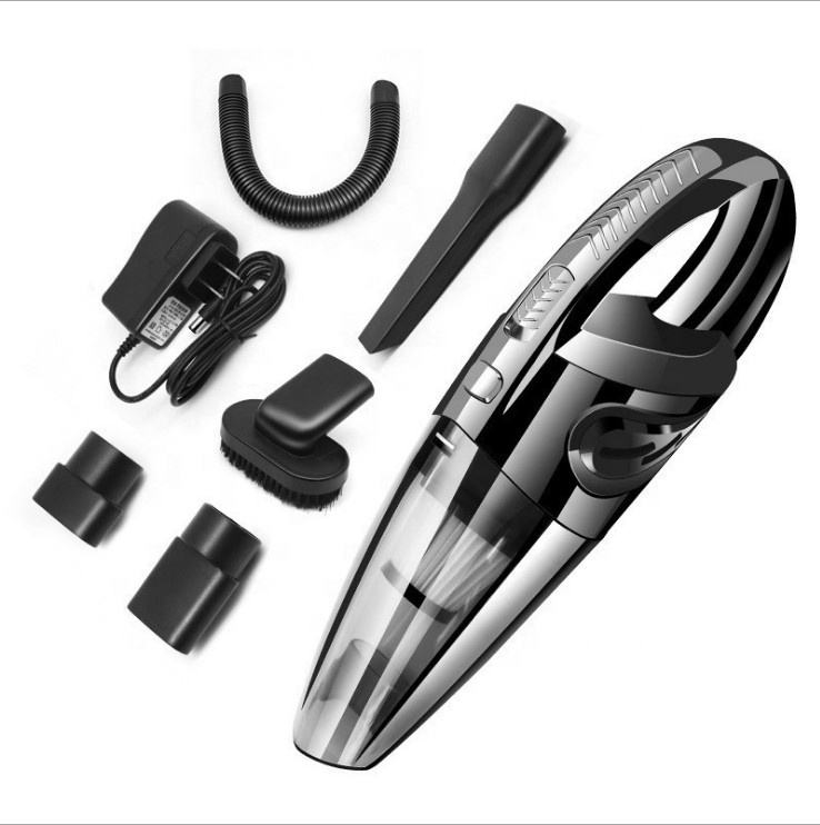 Mini Portable Wireless Car Vacuum Cleaner Car Cleaning Tools Car Seat Vacuum Cleaner for Both Dry & Wet Use