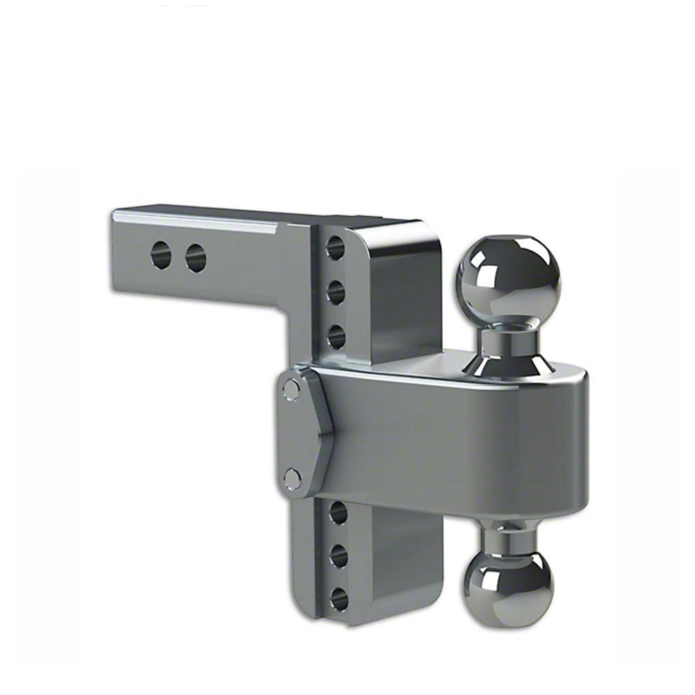 Adjustable Steel Drop Dual Joint Tow Hitch Ball Mount
