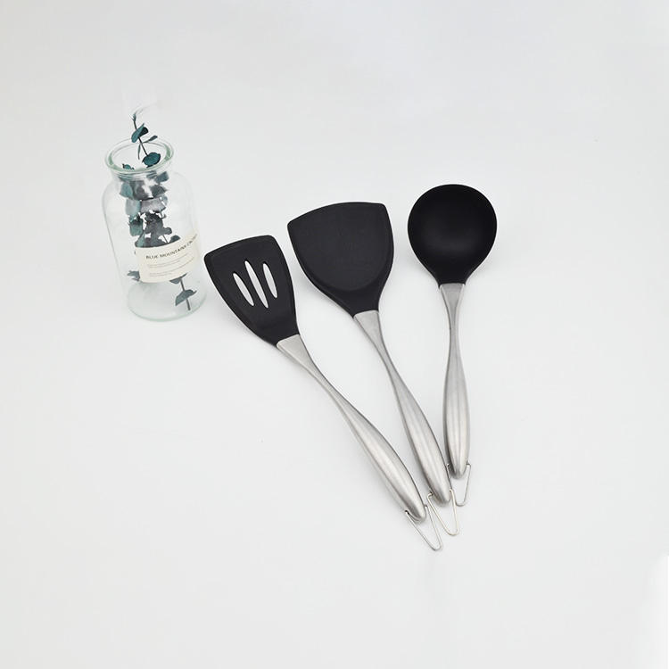Kitchenware with stainless steel handle useful cooking tool sets utensil