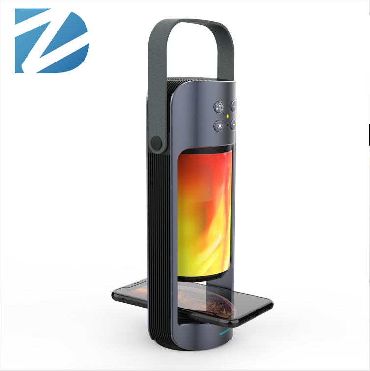 Custom Logo Wireless Portable Bluetooth Speaker Charger Charging With Led Light