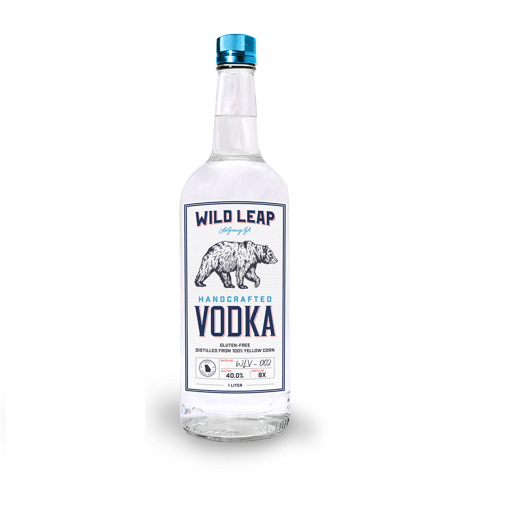 Best price alcohol drink gluten free alcohol Wild Leap - Premium American Made Vodka 750 ML