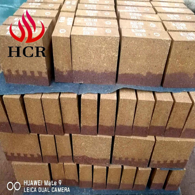 magnesia alumina spinel brick with high erosion resistance to slag for cement rotary kiln
