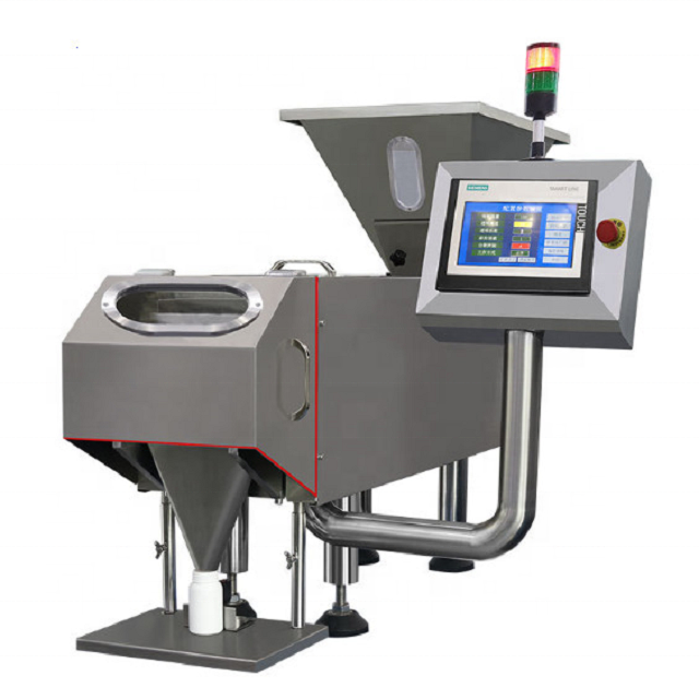 Automatic tablet counting machine Automatic capsule tablet counting equipment/machine at hot sale Table top tablet counting mach