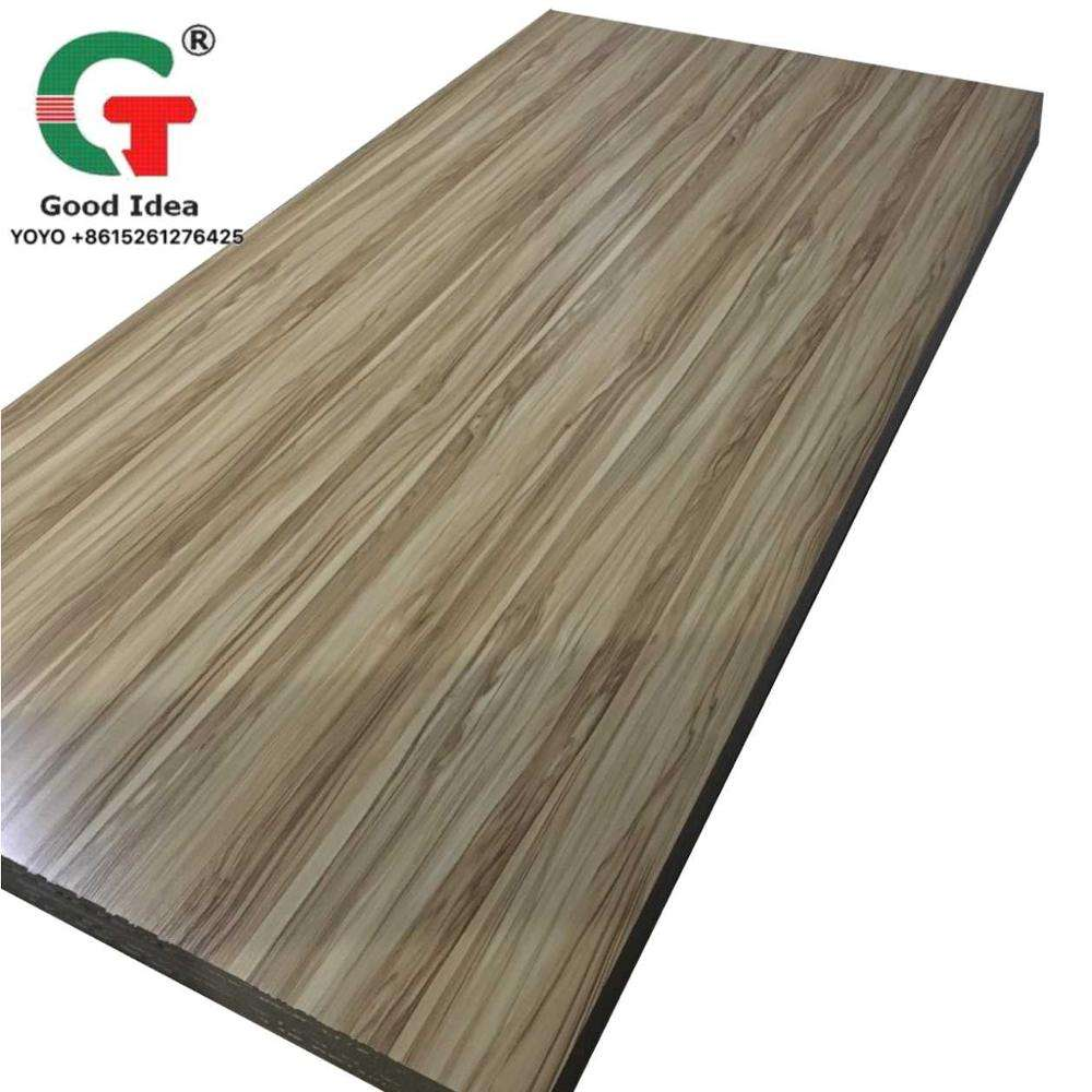 Wholesale price 1220x2440 size Melamine MDF High quality and cheap price
