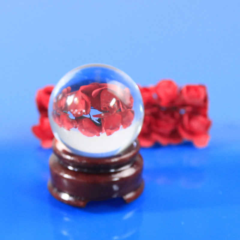 Hand Made [ Craft Glass ] Promotional Price Crystal Craft 30mm Crystal Glass Ball
