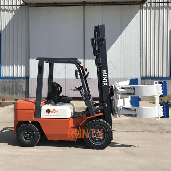 New Design 3 Ton Diesel Side Forklift With High Quality