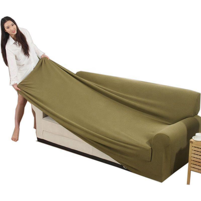 Customized Spandex Elastic Stretch Couch Sofa Cover