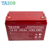 3years warranty Domestic solar 4 cell 12 volt 12.8v 110Ah 100ah 1280wh  lifepo4  battery pack