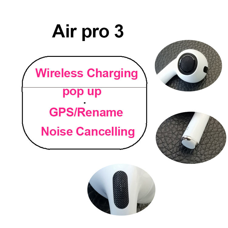 Touch Mini TWS Wireless Earbuds Waterproof Bass BT Wireless Charging Earphone Hifi ANC in-ear Headphone Bluetooth Headset