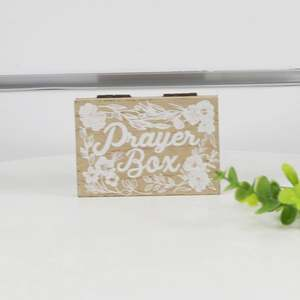 Custom High Standard Exquisite Religious Wooden Prayer Box