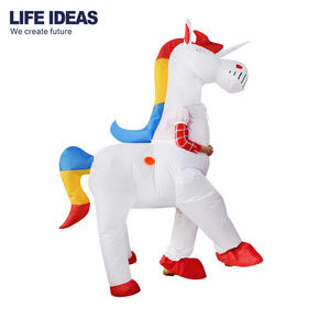 Top quality inflatable unicorn mascot costume for adults inflatable unicorn costumes