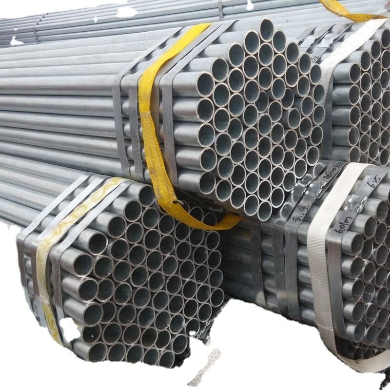 outside diameter 48.3 mm of hot dipped galvanized pipe for scaffolding and accessories