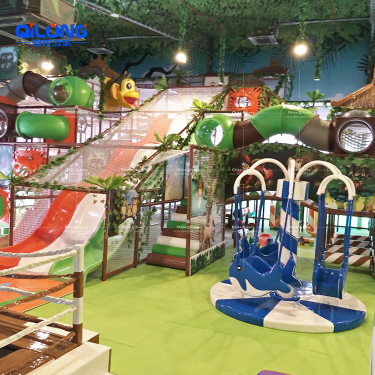 Malaysia Project Indoor Playground Construction Material Component, Indoor Soft Play Equipment