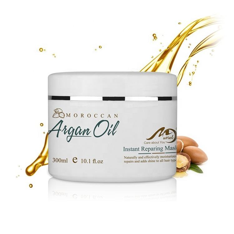 Professional Salon Use Herbal Hair Mask Best Moroccan Argan Oil Treatment Cream For Dry Hair