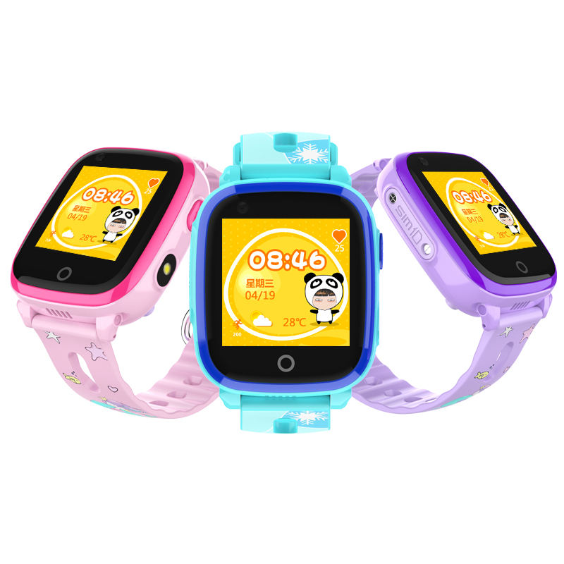 LTE 4G GPS mobile watch phone with video call no software fee support two way communication and chatting massage DF33