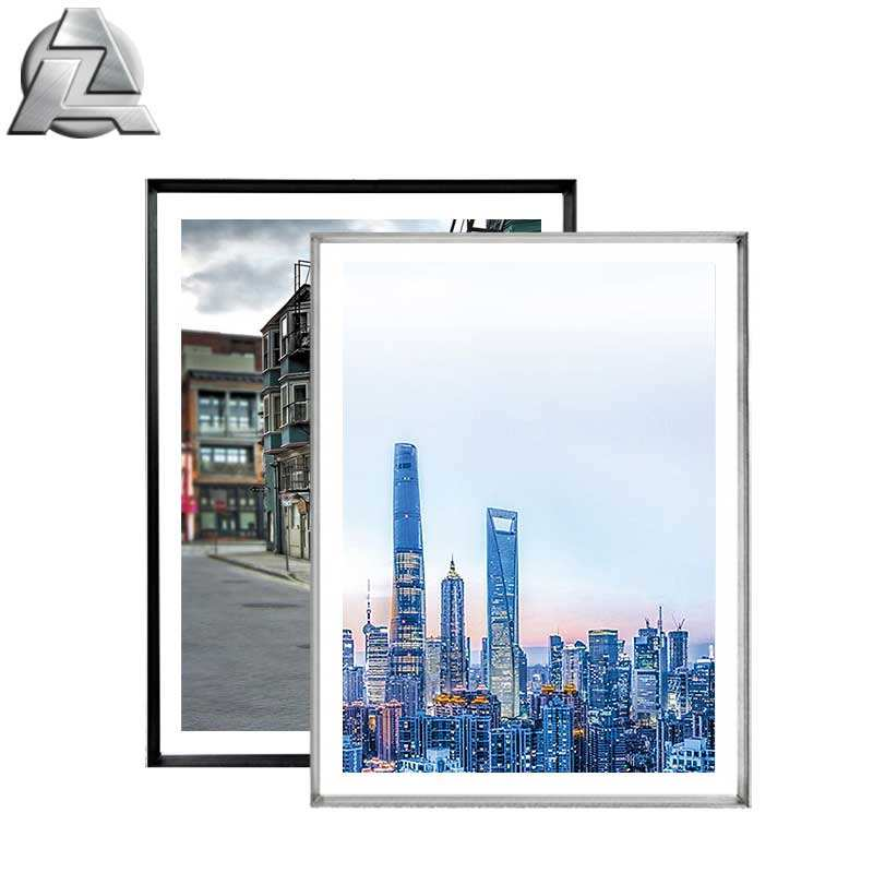 China cheap picture photo wholesale black or silver aluminum 16x20 frames