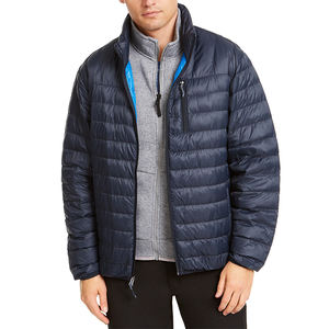 wholesale custom oem men's casual water resistant wind resistant thermal down puffer Jackets