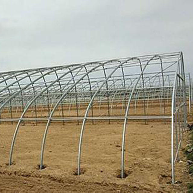 tunnel greenhouse galvanized frame for sales