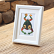 made in China white wood photo frame