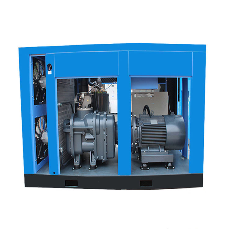 Customer Feedback Good Quality Air Compressor 110kw Direct Driven Electric
