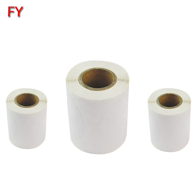 Custom supermarket price printing thermal paper adhesive food label sticker roll