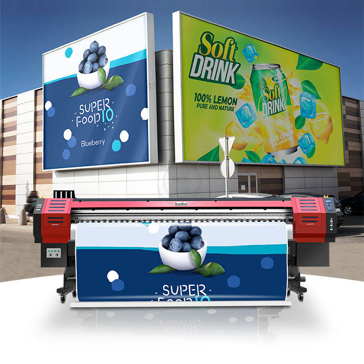 Professional eco solvent printer KONGKIM 3.2m 1.8m large format tarpaulin flex sticker printer printing machine