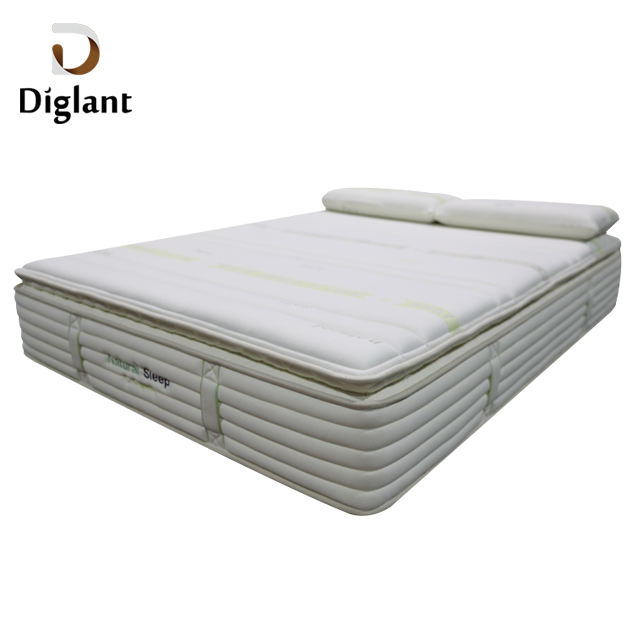 Hotel Furniture [ Mattress ] For Mattress D45 Diglant Bedroom Sets Pillow Inflatable Natural Latexl Memory Queen Foam Pocket Spring Mattress For Hote Bedroom Furniture