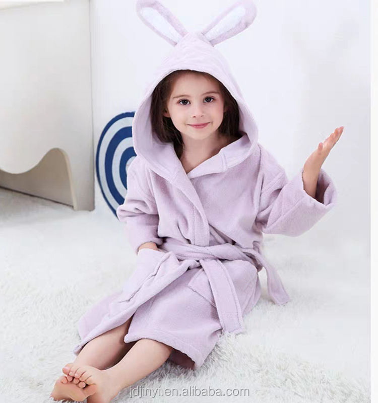 2020 Ultra Soft Hooded Bathrobe for Babies and Toddlers