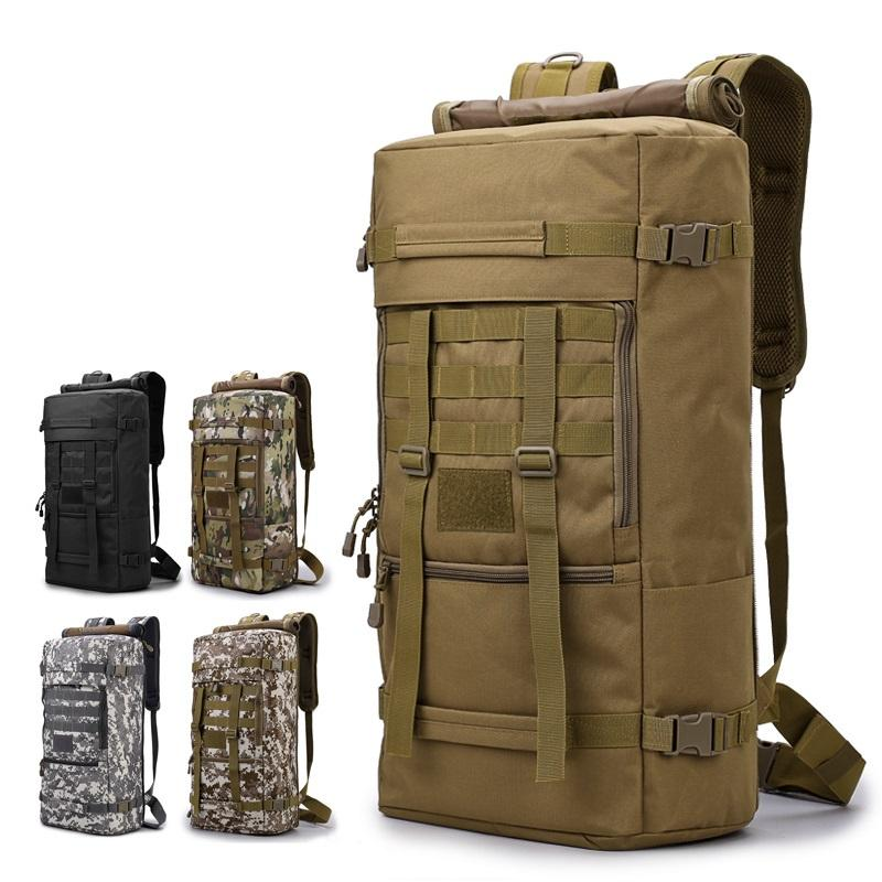 Wholesale custom multi functional polyester tactical backpack military backpack bag