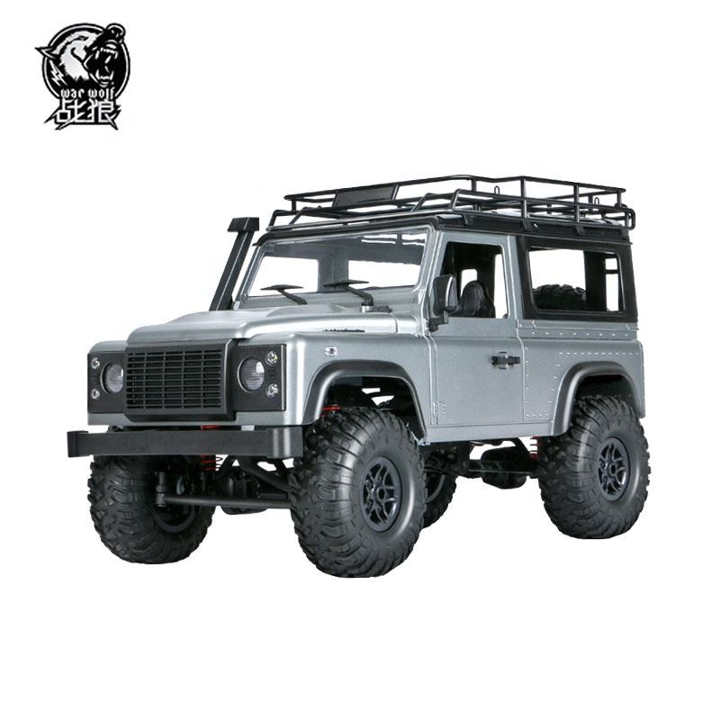 New upgrade design 2.4G 4ch professional metal off-road rc cars with direction light